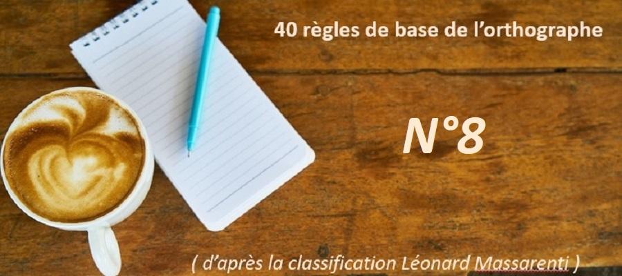 Le pluriel des nombres - Règles d'orthographe de base N°8