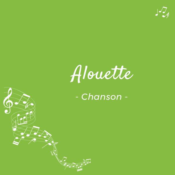 """""""Allouette"""" : une chanson sur le futur ou conditionnel : ai ou ais ?"""